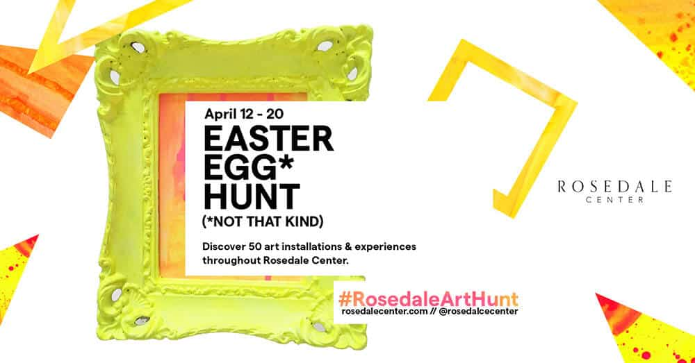 Easter Egg* Hunt (*Not That Kind) Event Graphic