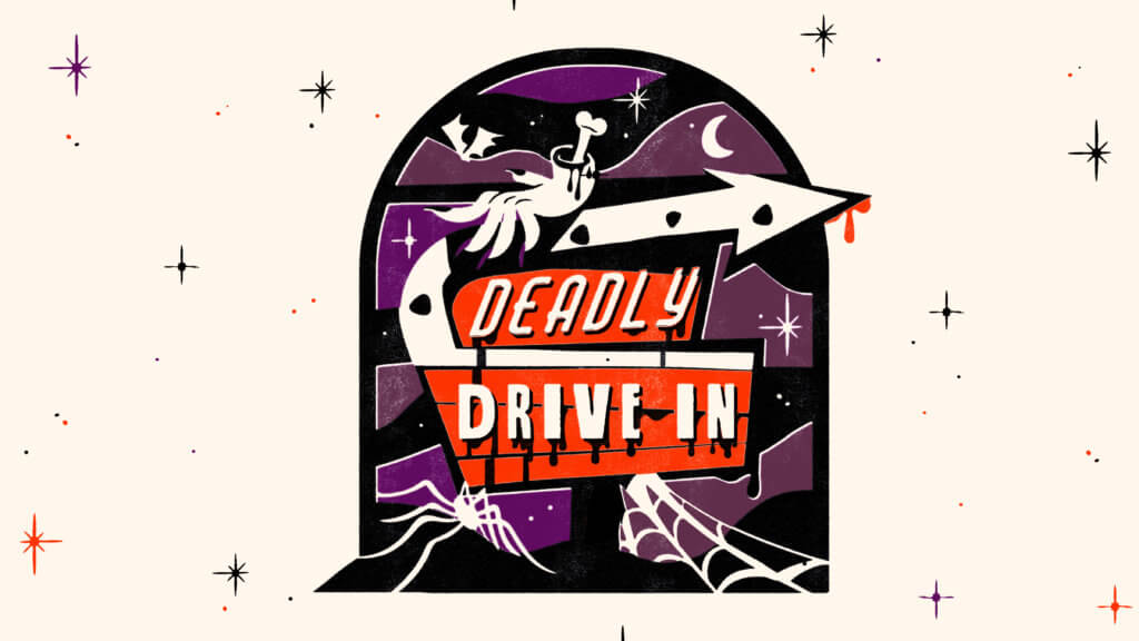 Deadly Drive-In event at Rosedale Center.